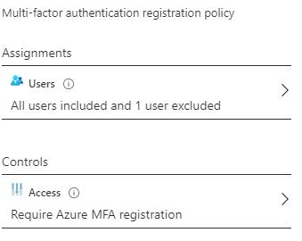 Register for MFA
